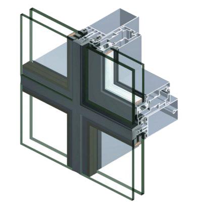 Алюминиевые фасады Алвиндор