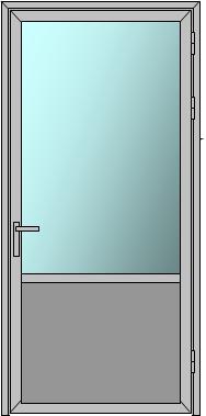 Стандартные дверные блоки интерьерных систем