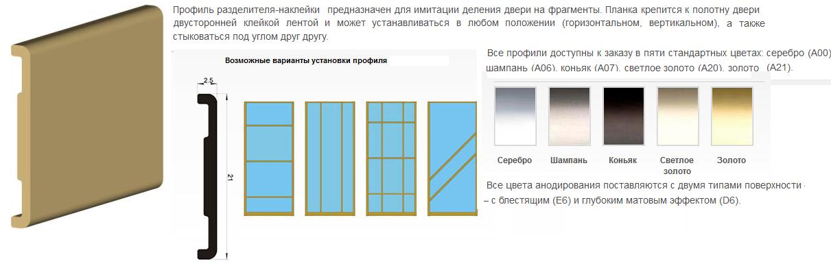 конфигурации раздвижных систем со стандартными створками
